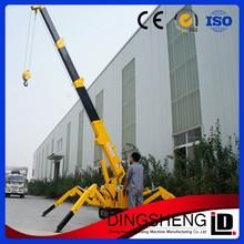 Mini Foldable Chinese Manitowoc Crawler Crane