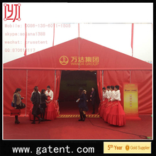 aluminium frame fire,water,sun proof sports tent decorations 850G/SQM top cover 650G/SQM sidewall
