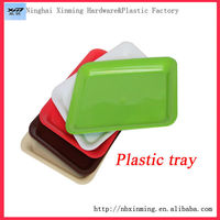 square plastic hotel serving tray
