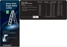 Everlas Heavy Duty Single Sided Ladder