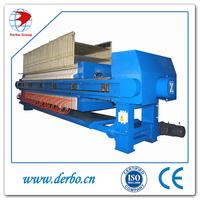 Filter press machine for metals