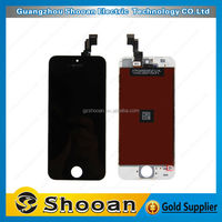 wholesale foxconn for iphone 5s accessories display part,for iphone 5s assembly replacement