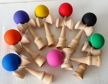 sports game used high quality wooden kendama toy