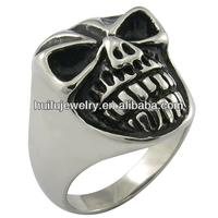 stainless steel 316l masonic skull cheap rings for men