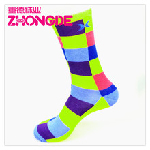 Knitted sublimation printing cotton socks