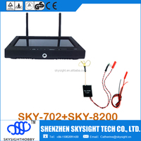 "200mw 5.8g fpv video transmitter +7"" fpv LCD receiver/monitor(not 5inch fpv monitor ) better than boscam/skyzone fpv kit"