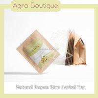 eco-friendly boutique 100% Brown rice made herbal slimming tea