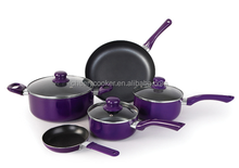 ELEGANT COMBINATION 8PCS COOKWARE SET WITH HIGH QUALITY SPARE PARTS