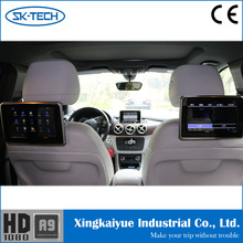 Car digital touch screen dvd player 9 inch Android rear seat headrest monitor for Toyota corolla