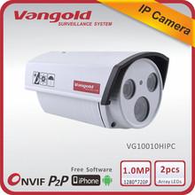 2013 china waterproof ir color night vision security camera digital IP Camera outdoor 1 year warranty