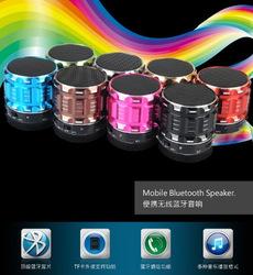 Mini creative bluetooth speaker portable wireless car subwoofer for wholesale