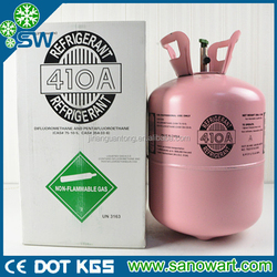 ISO TANK Refrigerant gas R410a with 13.6kg for sale