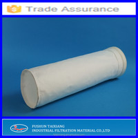 nonwoven Polyester filter bag(filter socks) with PTFE membrane used in Cement plant for dust collecting