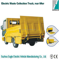 Electric industrial truck, for garbage bin collection, EG6032X