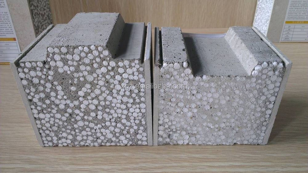 Polystyrene Wall Panels : Xgz expanded polystyrene supplier light weight concrete