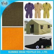 Durable Cotton poplin waterproof breathable stretch tent fabric