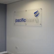Company Logo acrylic Signs Acrylic advertise table display