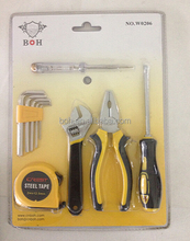 10pcs double blister gift tool set for promotion