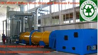 dryer wood sawdust drier less labour cost (0086-18796202093)