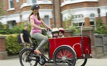 2015 горячая распродажа три колеса электрический мотоциклы с двух передних колесах