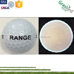 2pc cheap golf balls, rang practic golf balls, driving range golf ball