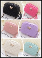 Sweet fashion! quilted mini chain bag in ice cream colors for teens