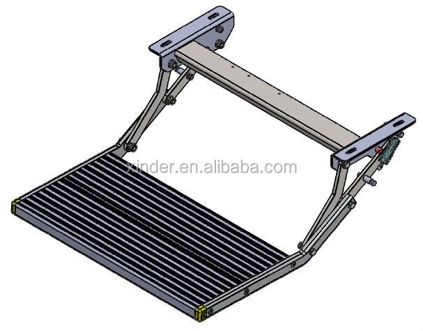 es-f-600-m 수동 접이식 알루미늄 단계 및 트레일러 캠핑카-기타 ...