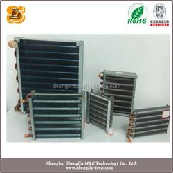 aluminium fin copper tube carbon steel shell water heat exchangers
