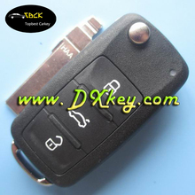 universal car key with model 5K0 837 202Q /753N for vw key vw passat remote key