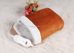 winter products electric foot warmer massage with timer