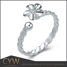 CYW adjustable sterling silver rings cheap wholesale Silver jewelry