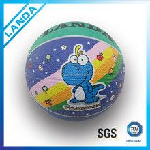 customized rubber size 1 black mini basketball