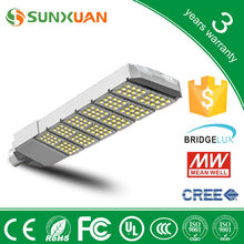 SUNXUAN 150w high power led street light 3 years warranty prices of solar street lights meanwell driver solar led street light