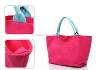 Fashion high quality reusable shopping environmental cotton bags