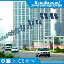 EverExceed 40W 50W 60W 70W Solar Power Street LED Light System with high efficiency solar panel