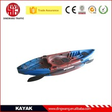 DINGWANG New kinds of single, double,sit in, sit on top Plastic Fishing Kayak