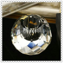 Optical Crystal Ball Faceted Candle Holders For Decoration & Gifts