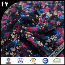 Custom digital printed silk fabric importers