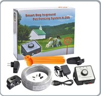 Portable Electric Fence For Dogs A200 Dog Fence Containment System