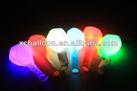 hot selling high quality advertising latex led balloon with tab
