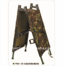 WSX-D3 Alumimum Alloy 2 Folding stretcher Military Folding Stretcher
