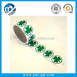 Customized Printing Waterproof Self Adhesive Clear Plastic Label