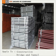 light/heavy duty painted/galvanized scaffold steel shoring prop for formwork system