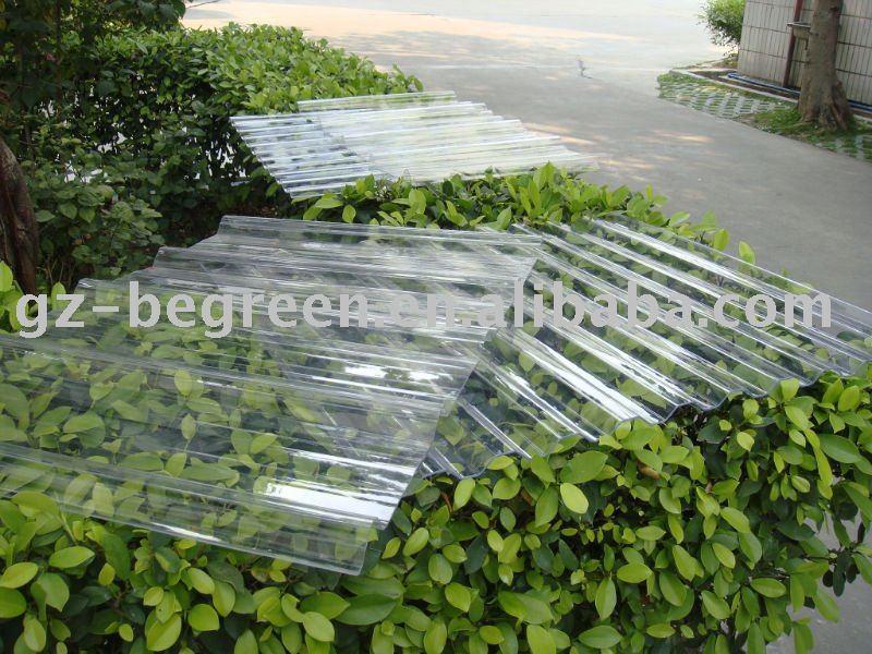 effacer t le ondul e plastique transparent feuille tuile autres mat riaux de construction en. Black Bedroom Furniture Sets. Home Design Ideas
