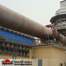 cement chemical metallurgy calcination rotary kiln for cement plant