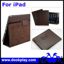 Wholesale Protective Leather Case For iPad 3 Folio Leather Cover