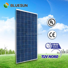 Bluesun EU and US stock high efficiency nice factory price poly 300w pv solar module / panels