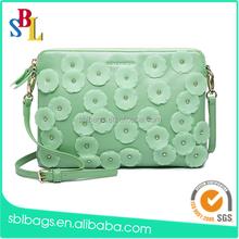 Flower purse alibaba china & ladies purse china supplier & leather purse women bag