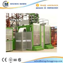 Passenger & material construction hoist SC100/100 Double Cage passenger Elevator