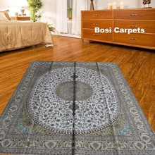 8x10ft Yellow Woven Carpet Line Single Knot Persian Oriental Carpets Online